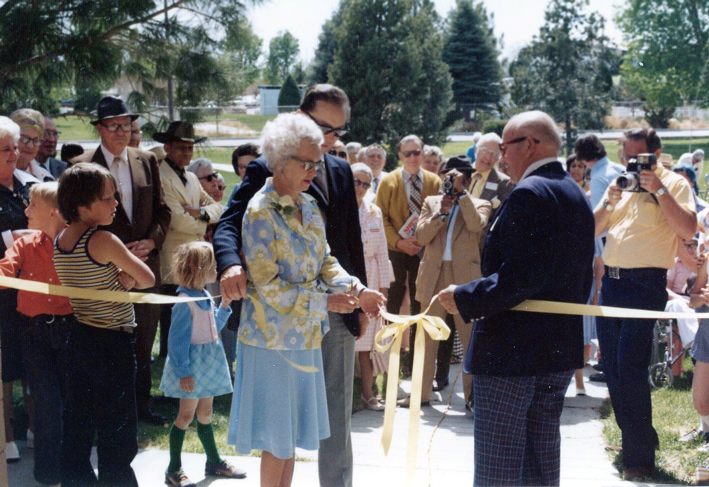 Esther Bone Ribbon Cutting